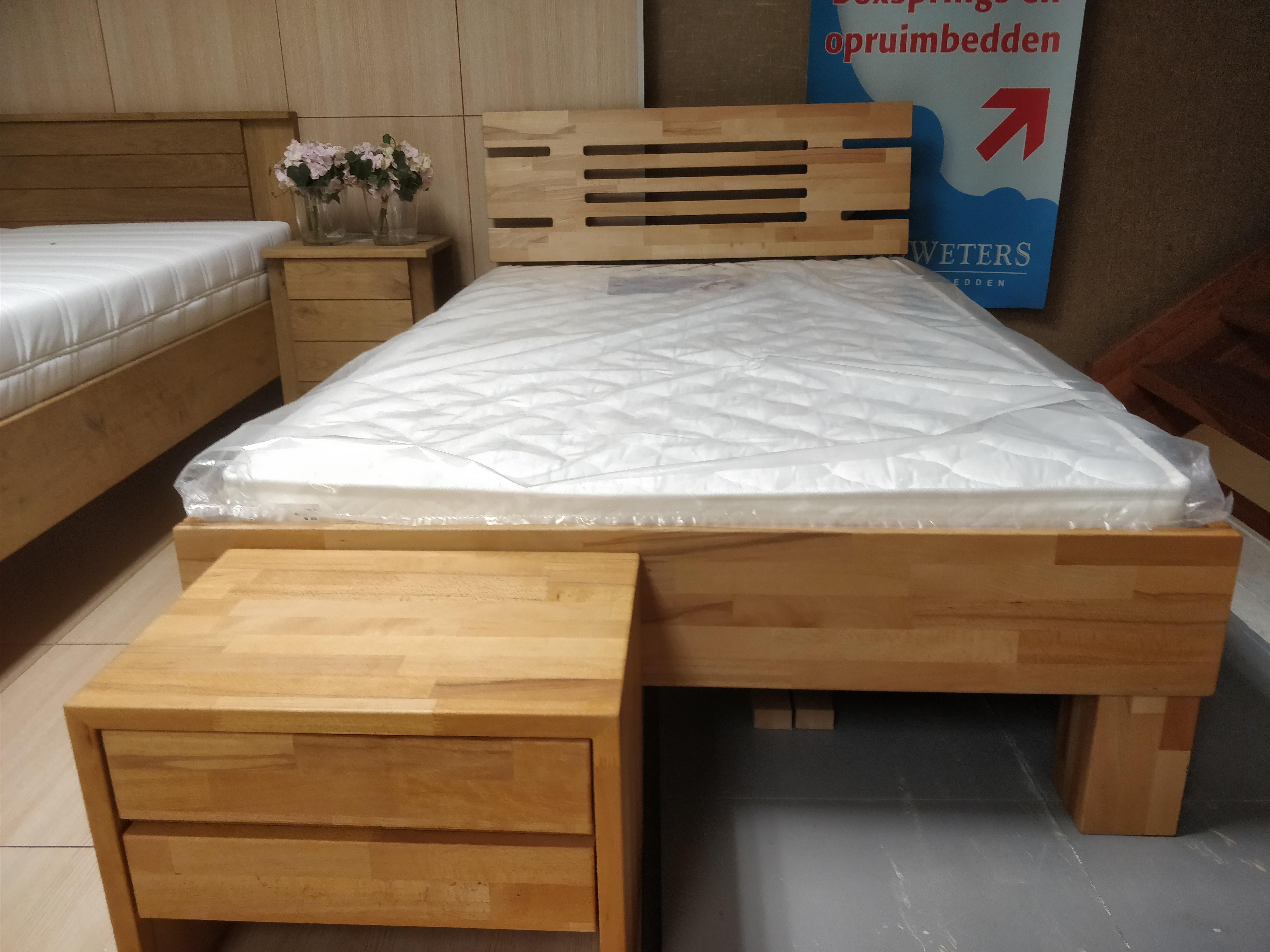 Luxe Vouwbed Twijfelaar.Dico Houten Bed Twijfelaar 120x200 Echt Beuken Hout Houten Bed